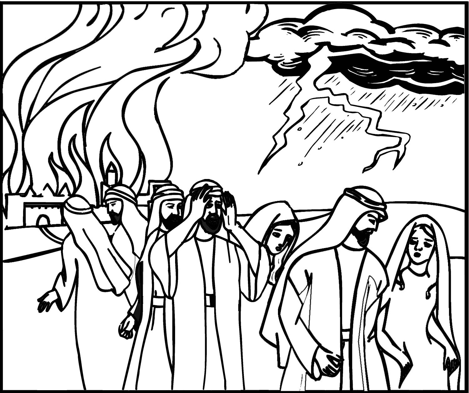 Free Coloring Pages Of Sodom